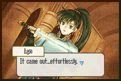 Fire Emblem - lyn and her mani kati - User Screenshot